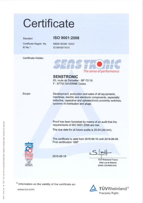 Certification Quality
